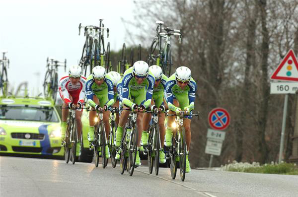 Stage 1b winners Team Liquigas