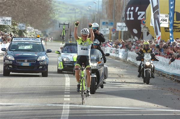 Huzarski wins stage 5