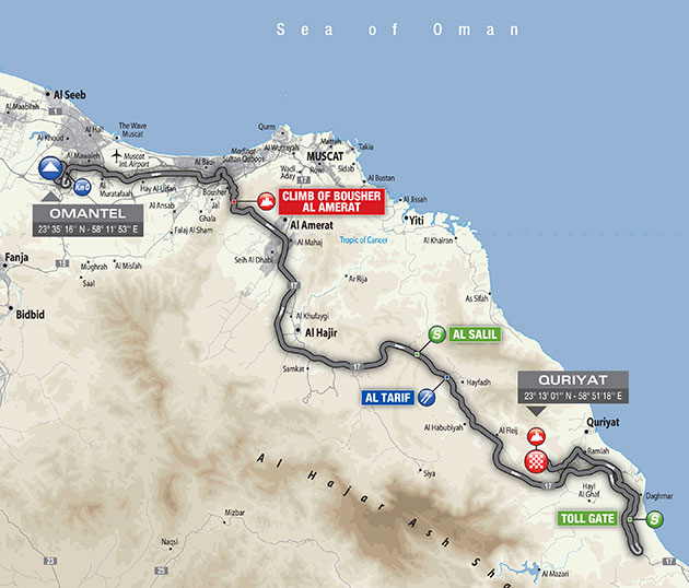 Oman stage 2 map
