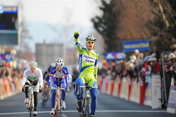 Peter Sagan wins his first big pro race