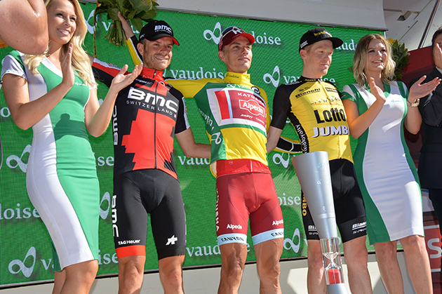Tour of Switzerland final podium