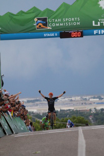 Michael Woods wins Tour of Utah stage 5