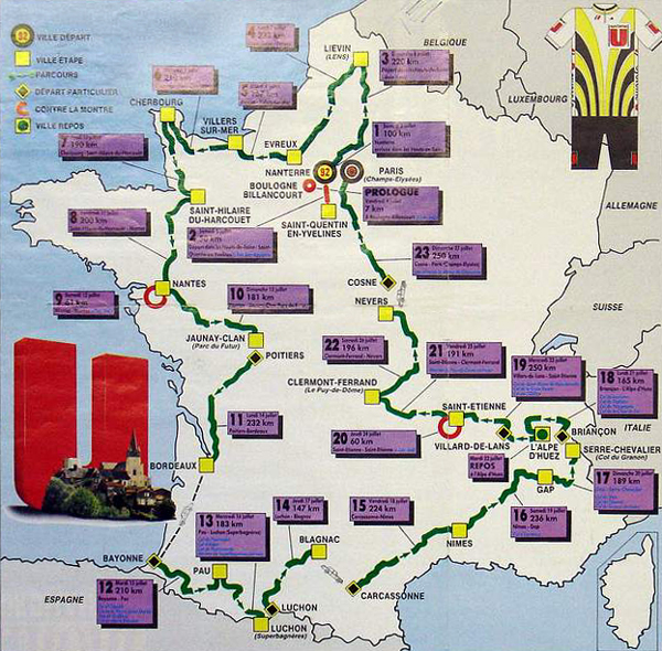 1986 Tour de France Results by BikeRaceInfo a35a2de3e