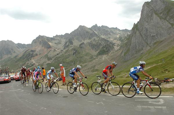 Break in stage 16 of the 2010 Tour de France