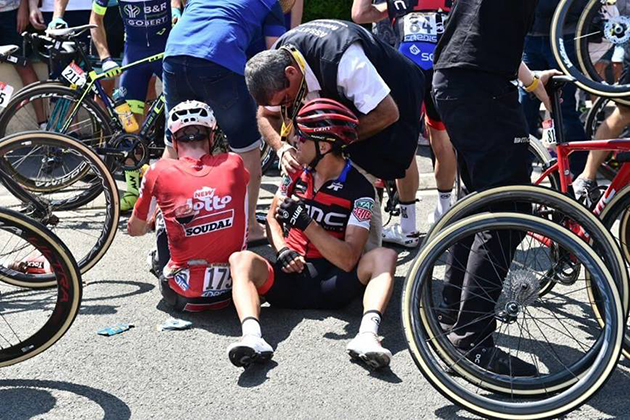 richie Porte and Jens Keukeleire