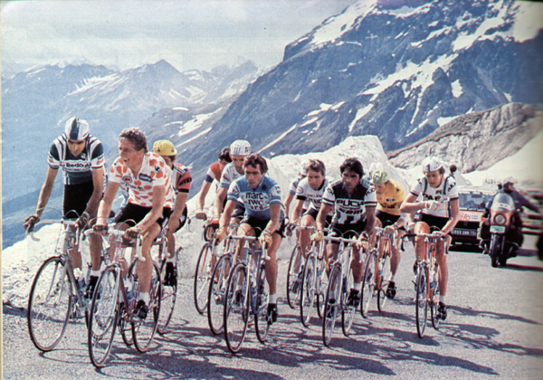 Riders in the 1970 Tour de France