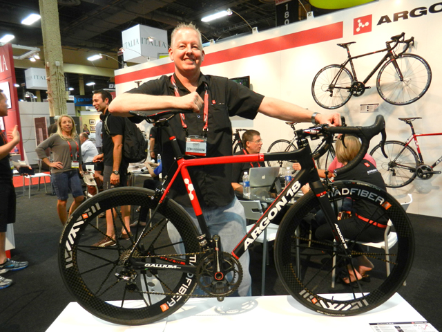 Lance Donnell with his Argon Gallium Pro