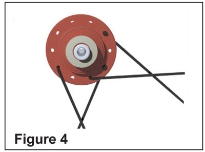 Lacing wheels figure 4