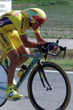 Garzelli in the time trial