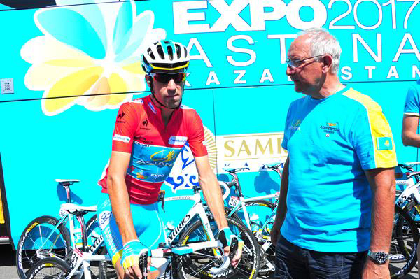 Nibali and Martinelli