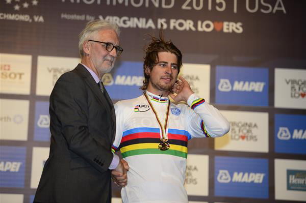 Peter Sagan and Biran Cookson