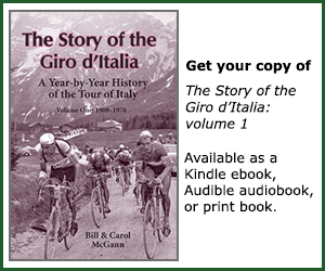 Story of the Giro d'Italia, volume 1