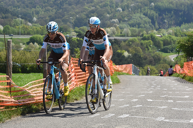 Axel Dumont and Romain bardet