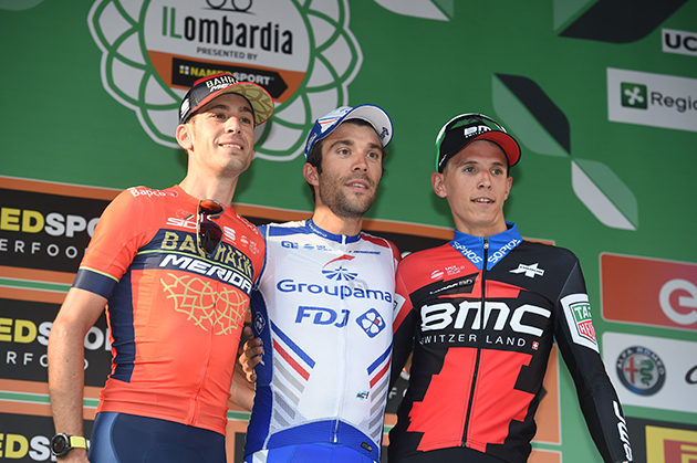 Tour of Lombardy podium