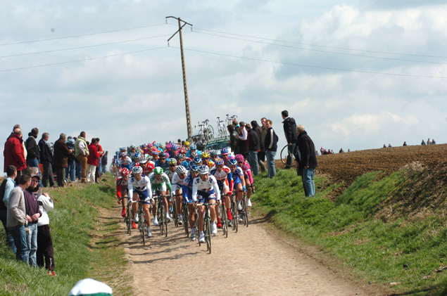PAck on cobbles