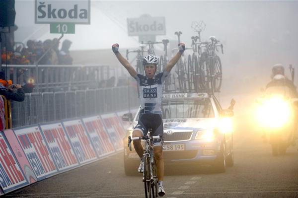 Sorensen wins stage 8