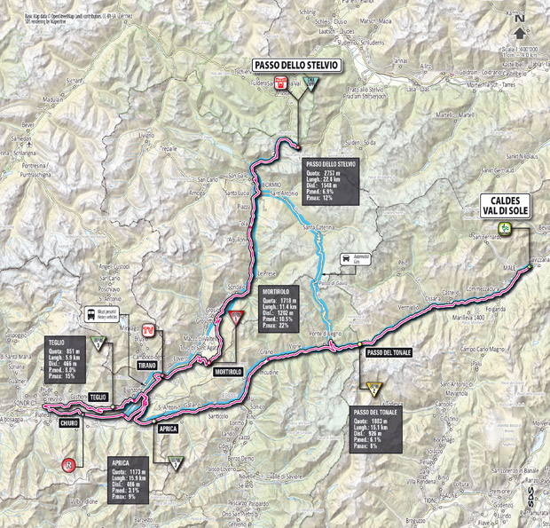 Stage 20 map