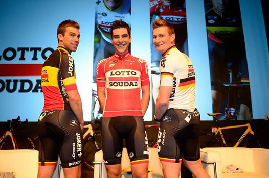 Lotto-Soudal 2015 team kit