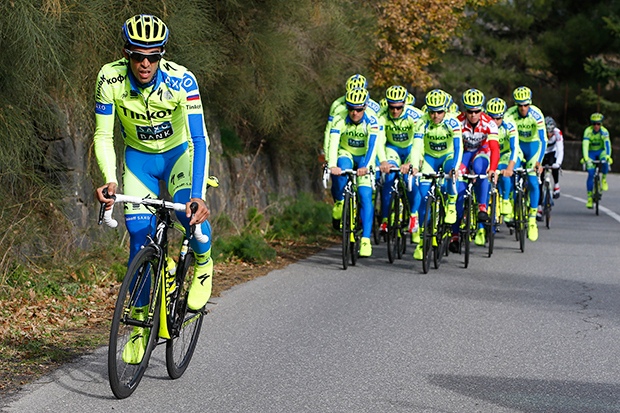 Tinkoff-Saxo training camp