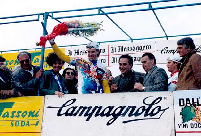 Phil anderson is the first leader of the 1988 Tirrreno-Adriatico