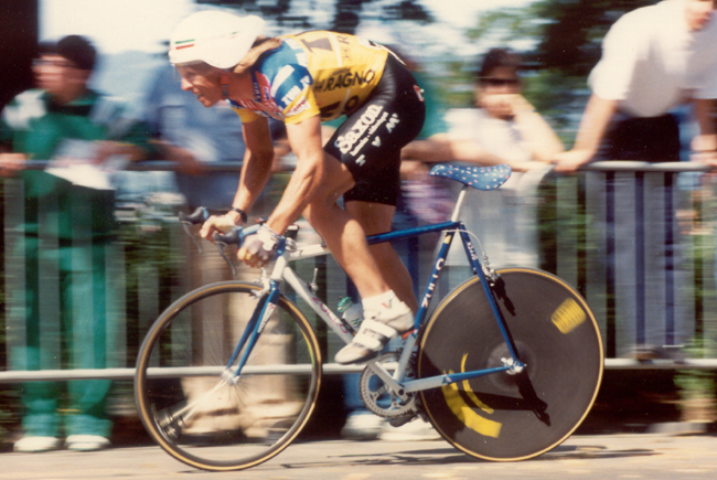 Phil anderson time trial in the 1989 Giro d'Italia