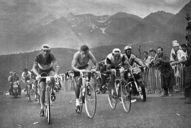 1961 Tour de France, Stage 16, Gaul, Anquetil and Junkermann