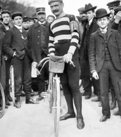 Aucouturier at the 1905 Tour de France
