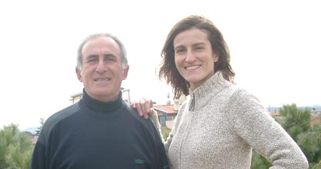 Valeria Paoletti and Franco Bitossi