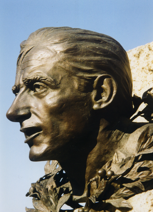 Fausto Coppi bust