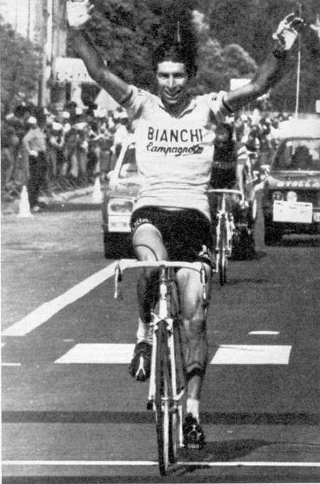 Gimondi wins stage 10 of the 1975 Tour de France