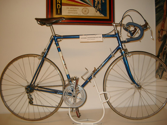 Gimondi's 1965 Tur de France-winning bike