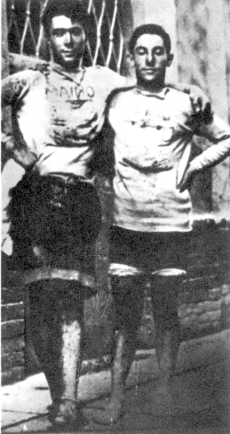 Lauro Bordin and Costante Girardengo