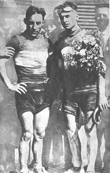 Costante Girardengo and Alfredo Binda