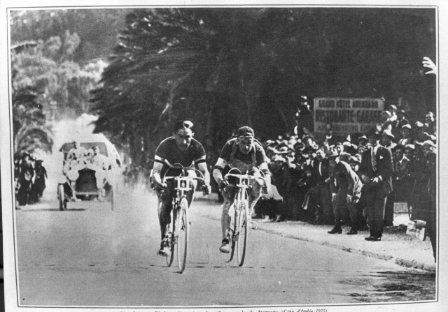 Costante Girardengo and Alfredo Binda in an undated photo