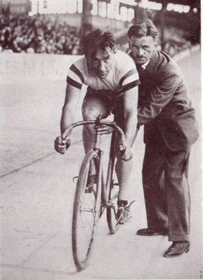 Girardengo on the track