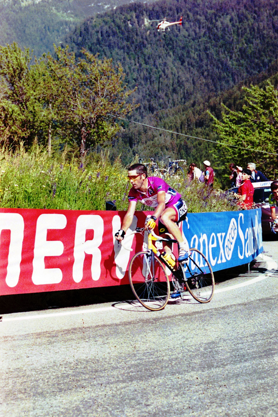 Jalabert in stage 20 of the 1999 Giro