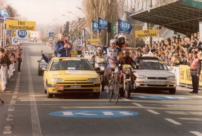 Museeuw wins 1995 Tour of Flanders