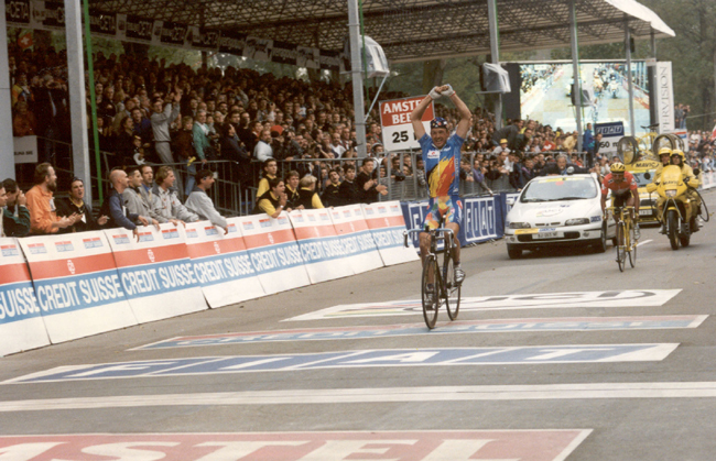 Johan Museeuw wins the 1996 World Road Championships