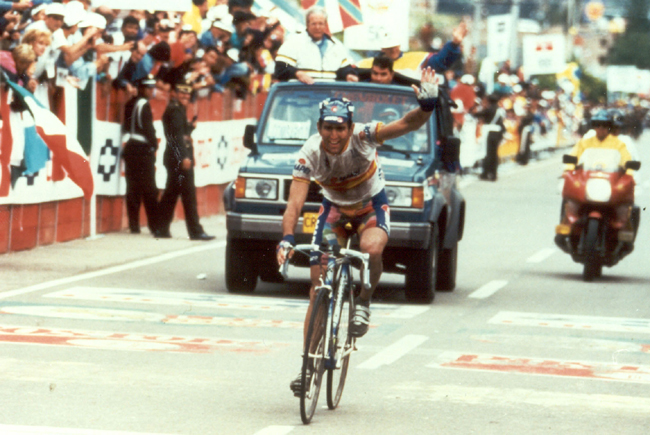 Abraham Olano wins the 1995 World Road Championships