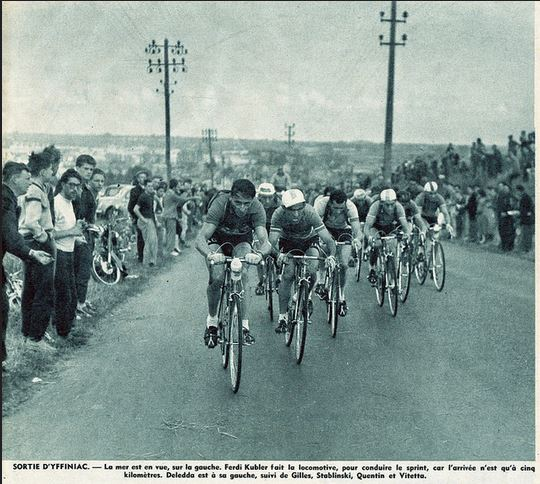 1964 Tour de France, Ferdi Kubler and stablinski