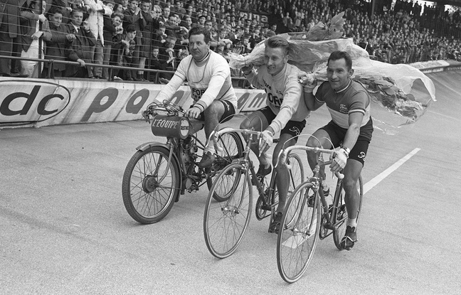 Jacques Anquetil and Hean Stablinski in 1965