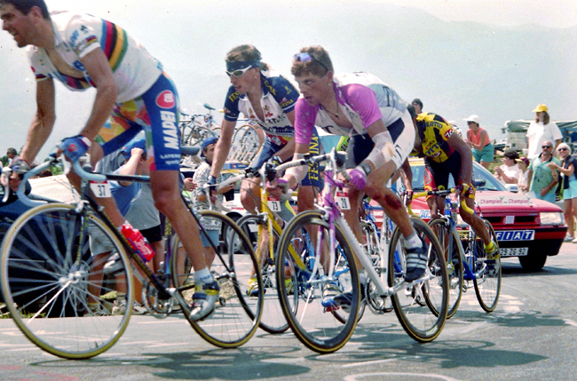 Ullrich instage 16 of the 1996 Tour de France