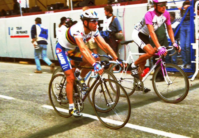 Ullrich at the 1996 Tour de France stage 4