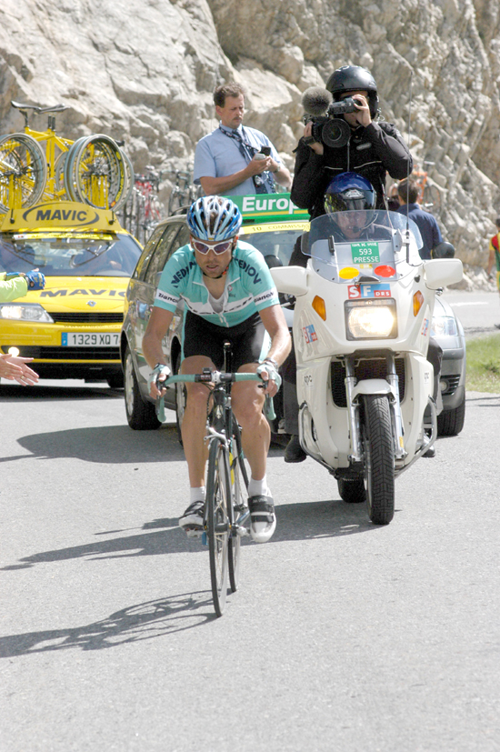 Ullrich in the 2003 Giro d'Italia
