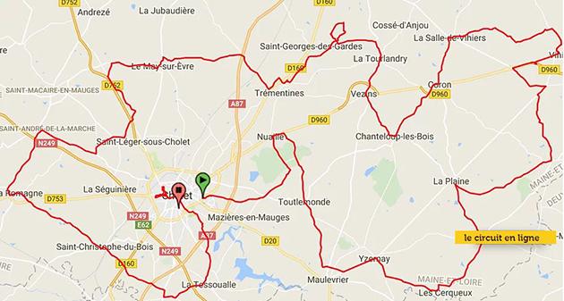 2018 CholetPays de Loire by BikeRaceInfo