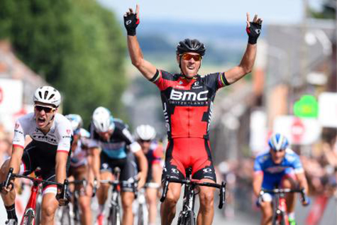 Philippe Gilbert wins 2015 GP Pino Cerami