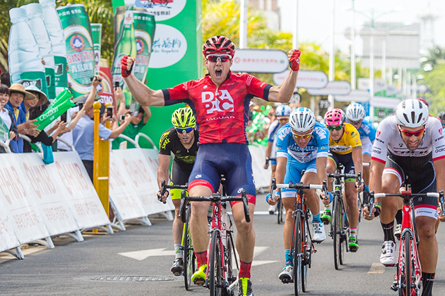 Brenton Jones wins Tour of Hainan Stage 9