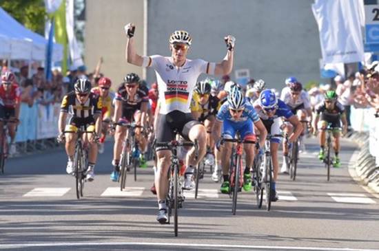 Andre Greipel wins Tour de Luxembourg stage 1