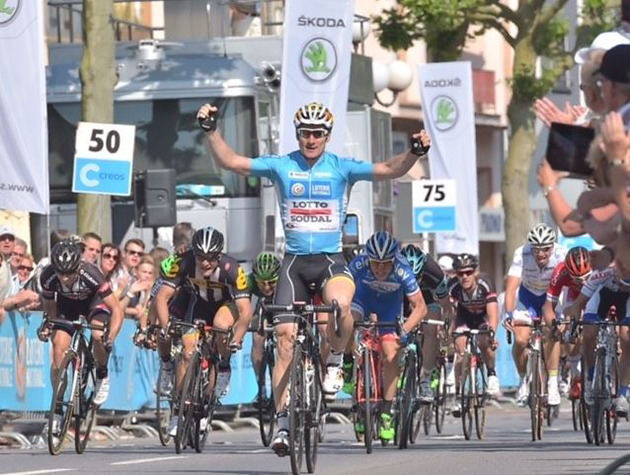 Andre Greipel wins Tour de luxembourg stage 3