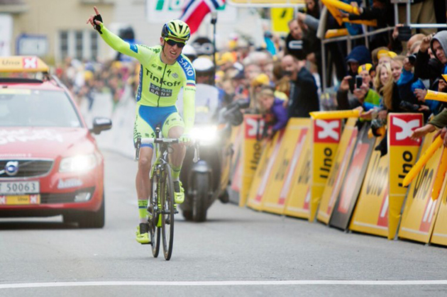 Hansen wins Norway stage 3
